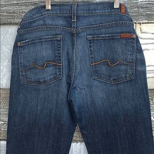 7 for all mankind boot cut jeans- 31